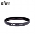 KIWIFOTOS LA-37LX7(B) Filter Adapter for Panasonic DMC-LX7 or Leica D-Lux 6 (Black)